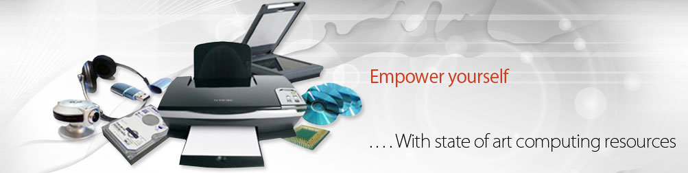 Empower yourself... With state of art computing resources