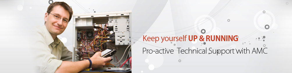 Keep yourself UP & RUNNING... Pro-active  Technical Support with AMC